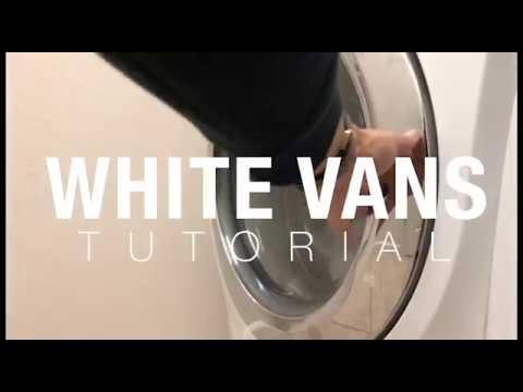 White Vans Tutorial