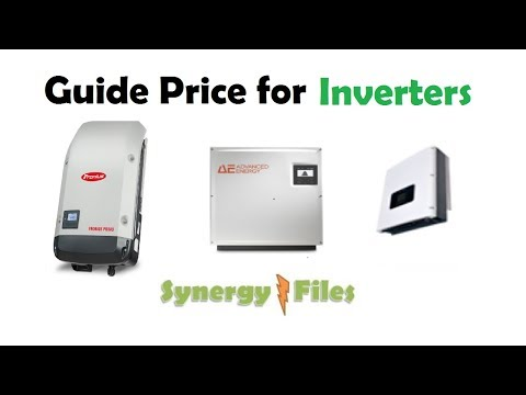 Guide price for Inverters