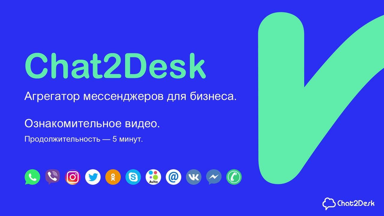 Презентация Chat2Desk — омниканальный контакт-центр для бизнеса