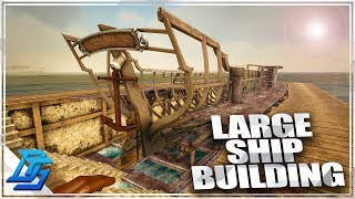 Shipyard Build, Atlas Ship building! - Atlas Gameplay Part 8