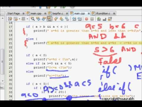 C Programming Tutorial: Conditional Statements (IF, ELSE, ELSE IF)
