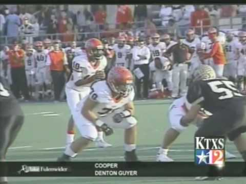 Abilene High Football Cedar Hill 2009 Youtube