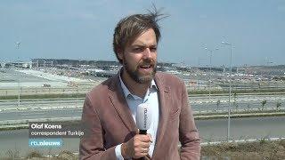 Protest bij bouw nieuwe luchthaven in Istanbul