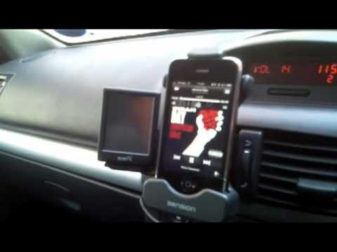 dension gateway lite installed into renault clio with active cradle using iphone youtube. Black Bedroom Furniture Sets. Home Design Ideas
