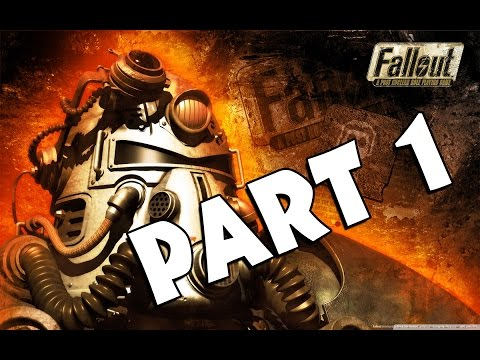 Fallout: A Post Nuclear Role Playing Game - Walkthrough Gameplay - Part 1 [PC]