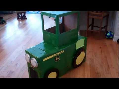 John Deere Tractor Homemade Costume Youtube