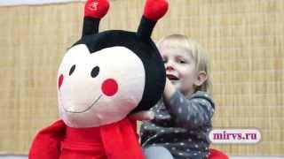видео Мягкая игрушка качалка