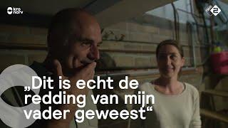 Leo Blokhuis bezoekt schuilkelder die leven vader redde