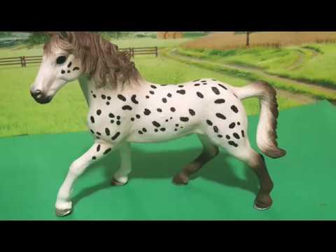 Schleich Horse Club Knapstrupper Stallion