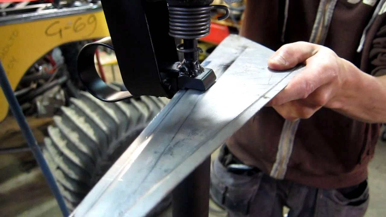 Planishing Hammer Flange Tool Youtube