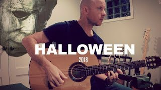 Halloween (2018): The Bogeyman | Laurie's Theme for classical guitar + TAB