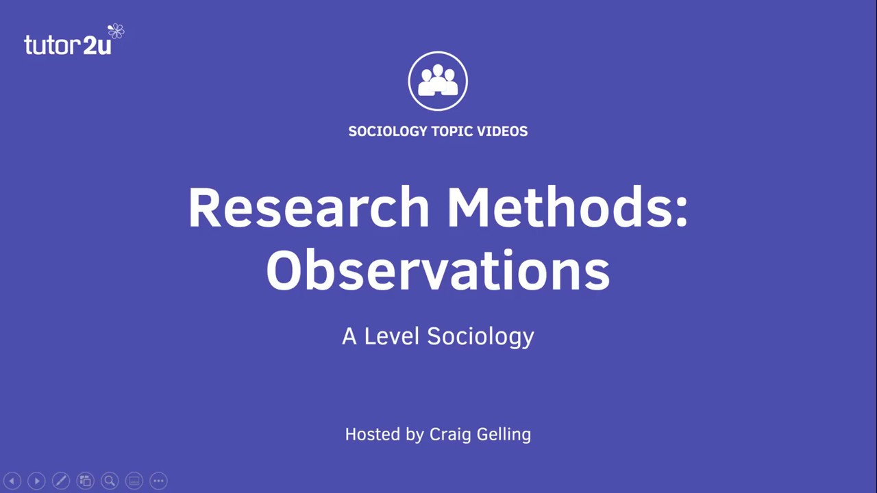 Download Research Methods: Observations (Sociology Theory & Methods)