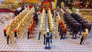 Обзор всей моей коллекции минифигурок Лего Звездные Войны дроиды, ситхи, сепаратисты(Lego Star Wars)
