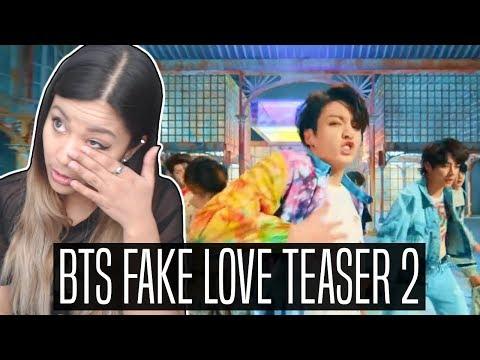 BTS (방탄소년단) 'FAKE LOVE' TEASER 2 REACTION | Breaking down teaser
