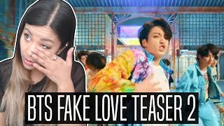 BTS (방탄소년단) 'FAKE LOVE' TEASER 2 REACTION | Breaking down teaser
