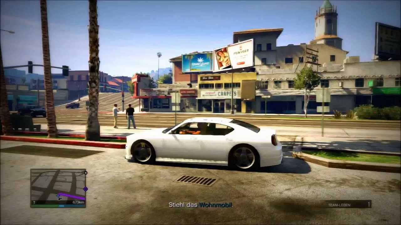 GTA 5 Online Game Play Playstation 3 Multiplayer Action HD