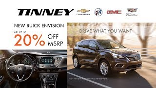 2018 Buick Envision for Sale Near Grand Rapids, MI at Tinney Automotive