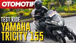 Test Ride Yamaha Tricity 155