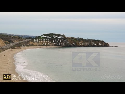 iRelax Crystal Cove Relaxing Beach Nature Video