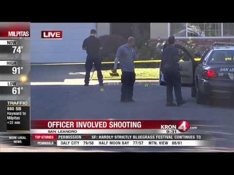 San Leandro Officer Involved Shooting