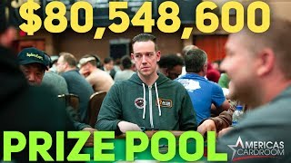 The World Series of Poker Main Event Day 2