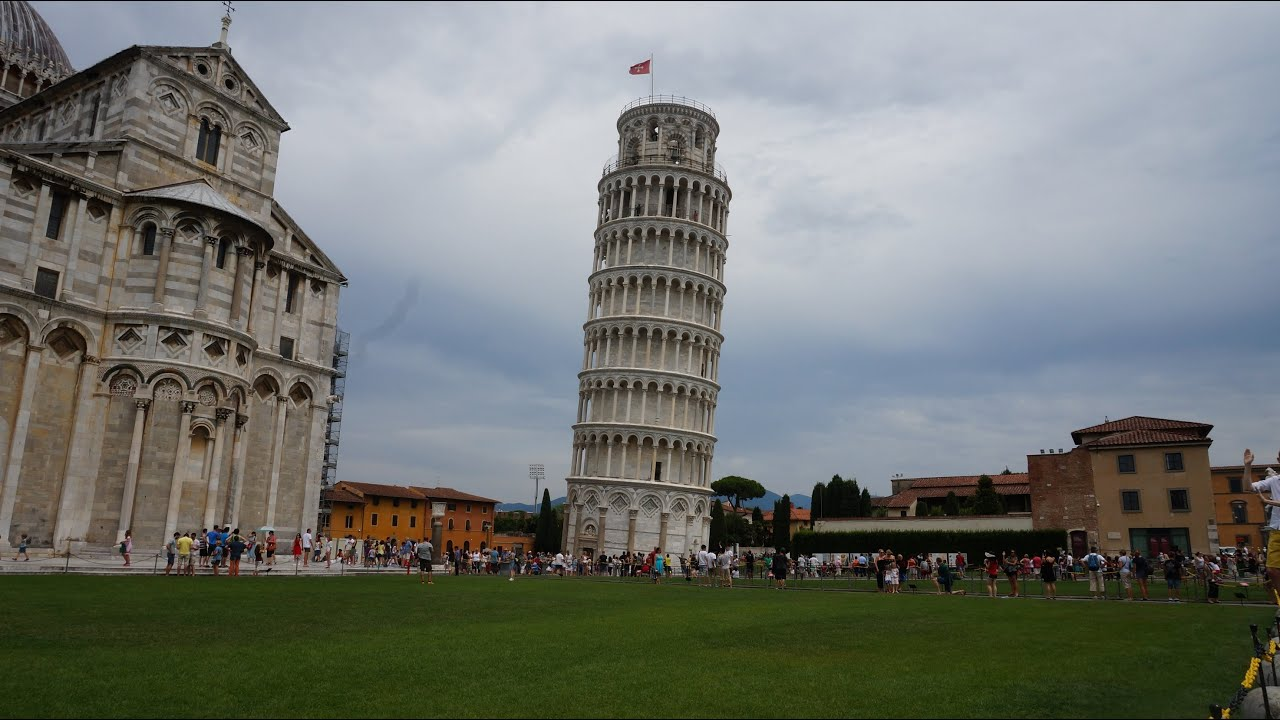 Leaning Tower Of Pisa, Hands On