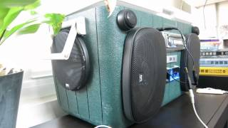 My Diy Cooler Boombox - Sound Is Awesome!