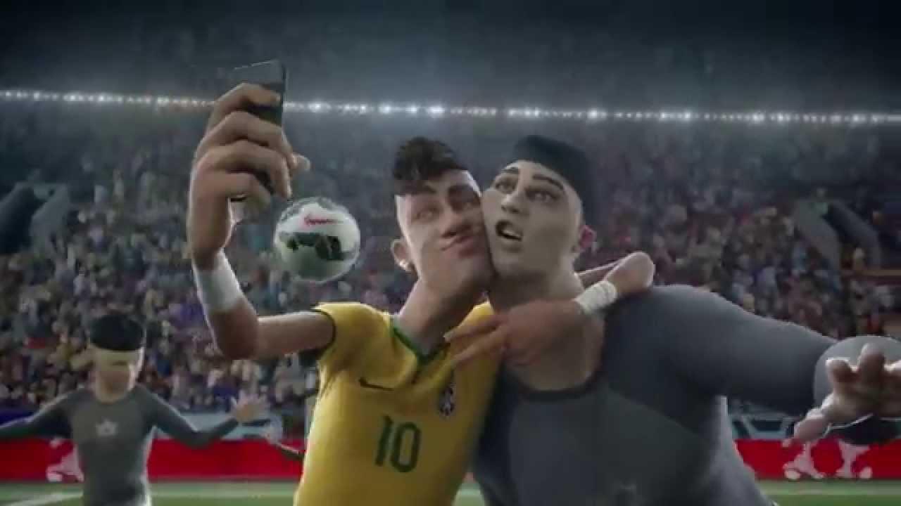 Animated Cartoon Wallpaper Comercial Animado De Nike Ronaldo Cristiano Zlatan