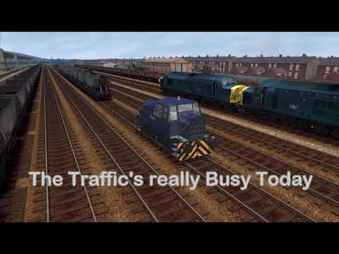 Train Simulator. East Midlands Coal Route With The NCB Sentinel Locomotive