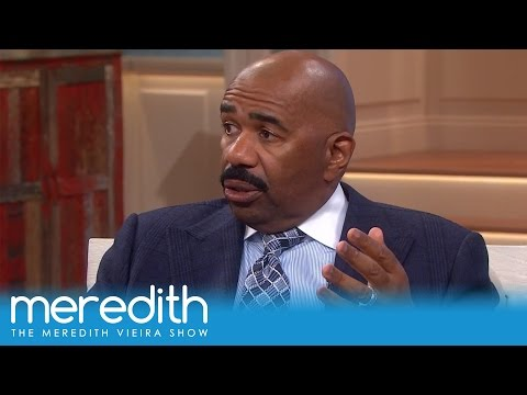 Steve Harvey On Being Protective Of His Daughters | The Meredith Vieira Show