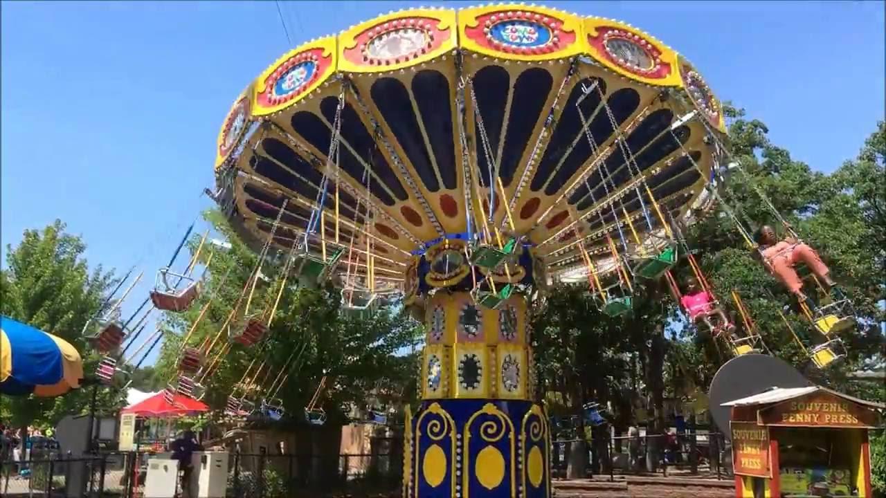 como town amusement park & como park zoo tour 2016 - saint paul, mn