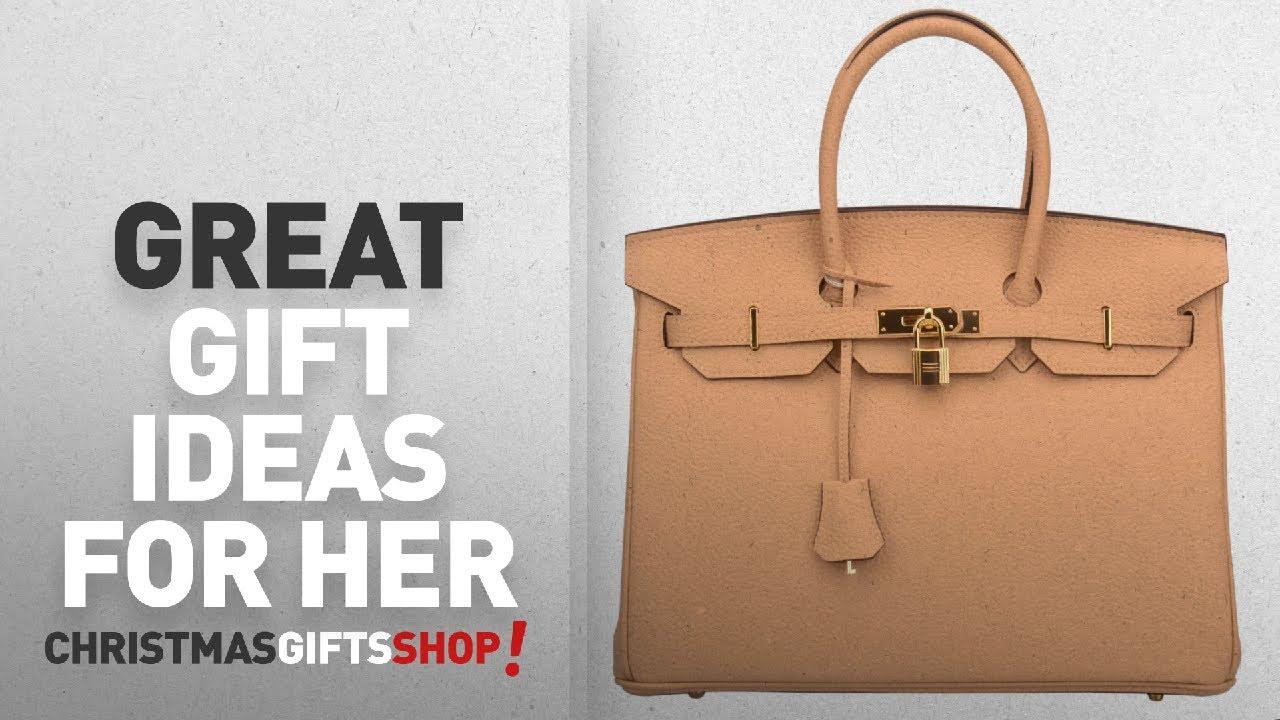 7358f7fe72e Top 10 Birkin Bag - Gift Ideas For Her  Ainifeel Women s Padlock ...
