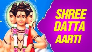 Shree Datta Aarti - Marathi Devotional Song With Lyrics