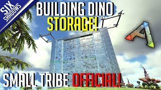 DINO STORAGE + BODY BAGS! | Small Tribe PvP Official | Tribe Limit Servers - Ark: Survival Evolved