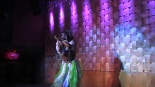 Nadia Nyce performing at Axis