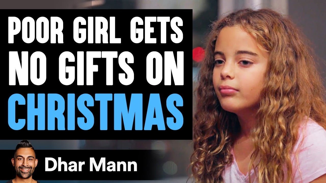 Download Poor Girl Gets No Gifts On Christmas Day | Dhar Mann