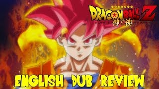 Dragon Ball Z: Battle of Gods English Dub Review (J-Stars Victory VS Naruto Shippuden x DBZ)