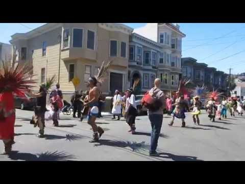 Cesar Chavez Holiday Parade 2015 Mission District San Francisco California