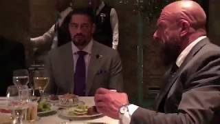 WWE saudi arabia top star Dinner with Great khali Brock Lesnar, Undertaker, Roman Reigns & More