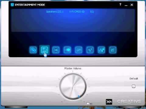 Creative Sound Blaster X-Fi Demonstration
