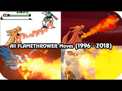 Evolution of Pokémon Moves