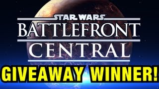 Battlefront Central : Giveaway Winner! + Brief Channel News and Next Milestone!