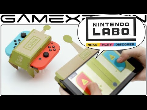 Download Youtube: Nintendo Labo is Freaking Brilliant! - Reaction DISCUSSION (Pricing, Gameplay, & More!)