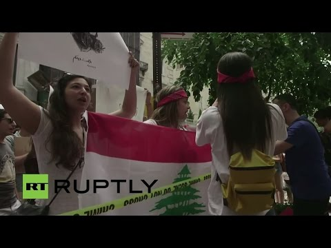 LIVE: Demo in solidarity with the Lebanese #YouStink protesters