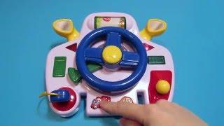 Музыкальный детский руль Navystar Обзор игрушки Musical kids steering wheel Navystar Toys Review