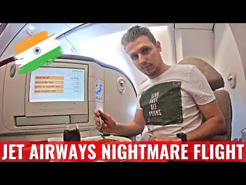 Review: My JET AIRWAYS NIGHTMARE FLIGHT - Angry Crew & Broken Plane!
