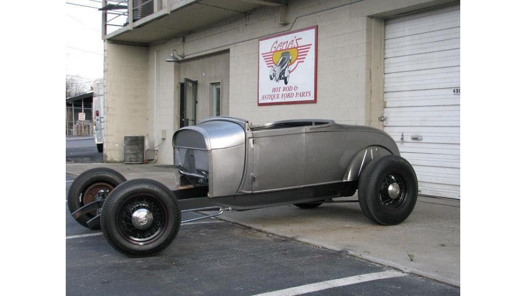 1929 Model A Roadster Project Brookville Body on Pete & Jakes Frame ...