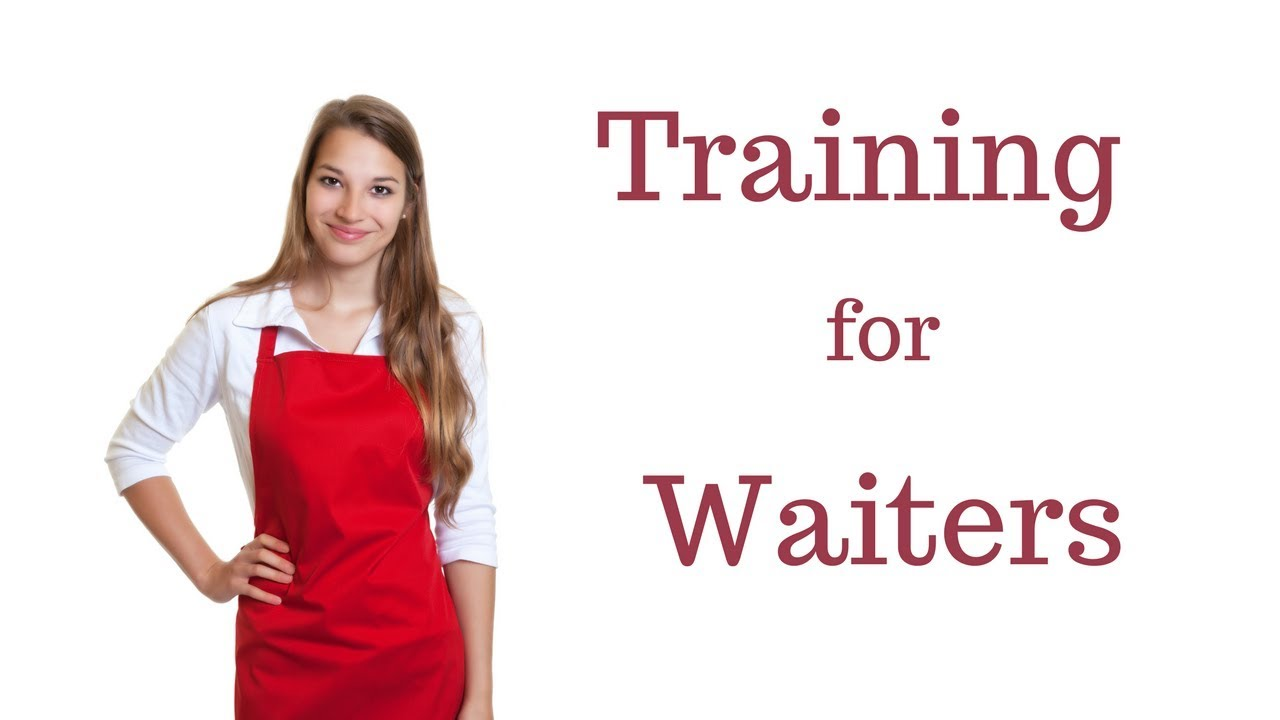 Waiter Training : Steps of Service