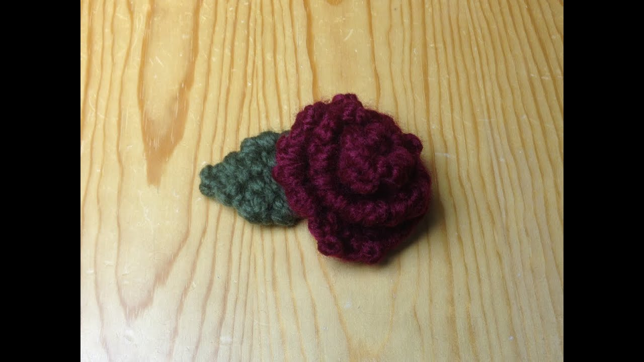 How To Loom Knit A Rose Diy Tutorial Youtube