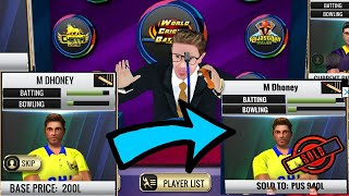 WCB IPL / PCL  2019 Auction Update v 1.6.0 Full Review  World Cricket Battle aNdroid / IOS Gameplay screenshot 1
